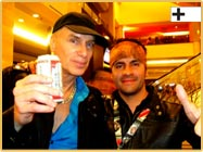Andrés Osorio and Billy Sheehan of Mr. Big
