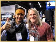 Andrés Osorio and Steve Morse